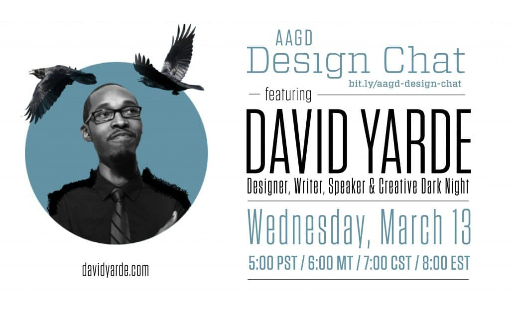 David Yarde -- African American Graphic Designer